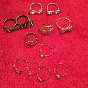 Bundle of rings.